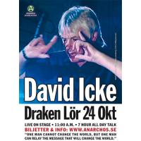 A3-affisch –David Icke på Draken i Götebo…