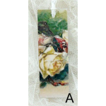 Bokmärke –A. Vit ros…