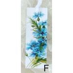 Bokmärke –F: Blåklint…